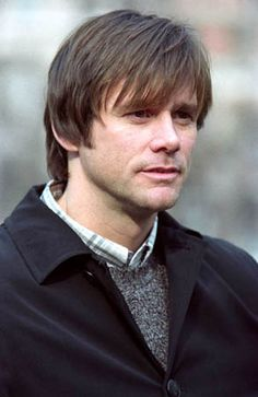 Jim Carrey in Eternal Sunshine...Jim is so handsome, but so liberal...his only flaw, with the exception of being wacked in the head...