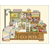 THE SEWING ROOM ~ counted cross stitch kit ~ BOBBIE G