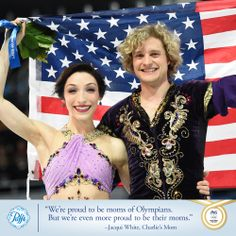 Congrats to US ice dancers Meryl Davis & Charlie Davis on their world record Gold medal performance!