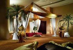 Arabian Themed Event With Arabian Themed Decor White