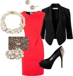 Love this for the Office Holiday Party or for a day where I will play The Matador in a courtroom ;)