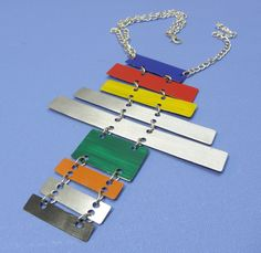 The Xylophone Necklace Edgy Jewelry Rocker by MelissaCreider, $45.00