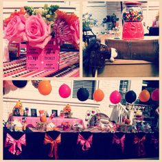 17th birthday party ideas on pinterest pink pumpkin for 17th birthday decoration ideas