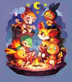 pokemon iniciales tipo fuego