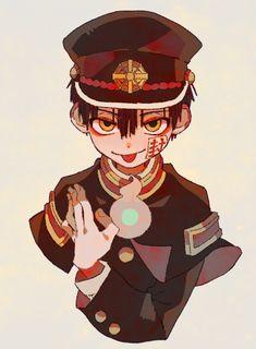 b l e h ♡ Otaku Anime, Manga Anime, Anime Art, Character Drawing, Character Design, Hanako San, Ghost Boy, Anime Kawaii, Aesthetic Anime
