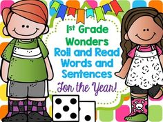 These activities are great to use during small groups, independent work, and pair reading. This bundle covers Wonders Unit 1-6.Included: High-frequency word roll, read, and writeHigh-frequency word roll and readHigh- Frequency word sentencesVocabulary word roll and readVocabulary word sentencesThe high-frequency words includes two words from the previous week.