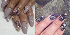 This New Geode-Inspired Nail Trend Totally Rocks - Cosmopolitan.com