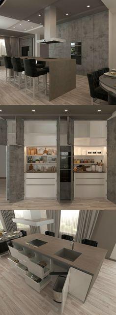 Кухни | Kitchens | Гостиная | Living rooms | DS Avangard | Мебель | Design | Furniture