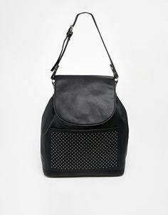 ASOS Backpack with Pinstud Pocket
