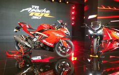 TVS has launched the Apache RR 310 in India at a price of Rs. 2.05 lakh