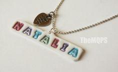 Imiennik - naszyjnik / Name - necklace :)