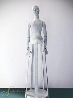 "Image of 31"" Whitewashed Santos Cage Doll"