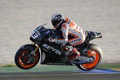 Pretemporada 2014. MotoGP en Valencia.