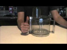 How To Assemble Your Cuisinart Work Bowl Assembly For Your Food Processor WBA-14CUPSET - YouTube