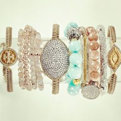 Any southern girl knows her wrist bling!