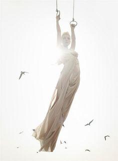 Model: Jessica Stam - Vogue editorial, 2006