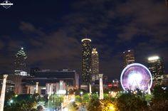 Metro Atlanta Chamber Rooftop Pavilion view. Photos by Jack Parada Photography.