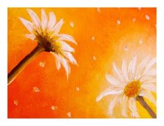 """OOAK ACEO CARD IN OIL PAINTING """" DAYSIS """""""