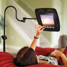 Adjustable Tablet Stand.. Pretty awesome!!
