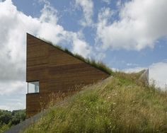 Green Roof Studio Office Design A New Concept Of Architecture