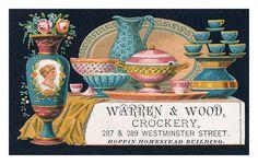 Warren & Wood business card | Flickr - Photo Sharing!