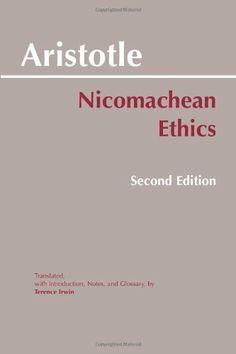 Nicomachean Ethics by Aristotle, http://www.amazon.com/dp/0872204642/ref=cm_sw_r_pi_dp_xs11pb1RB0N0R