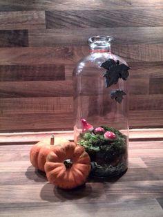 Herfst in een fles, door mij gemaakt :) Pascale