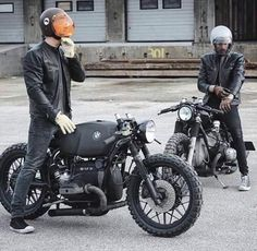 BMW cafe racers //