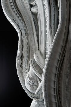 """Gallery - 4D Printed """"Arabesque Wall"""" Features 200 Million Individual Surfaces - 1"""