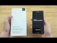 Samsung Galaxy Note 5 Review - YouTube