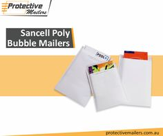 Poly Bubble Mailers are protective and durable besides being easy to store even in smaller areas. If you want to add unique style to your dispatching services, start using printed bags with bubble layer. Protective Mailers, the foremost online store of protective mailers in Australia, offers the entire range of competitively priced Sancell Poly Bubble Mailers.
