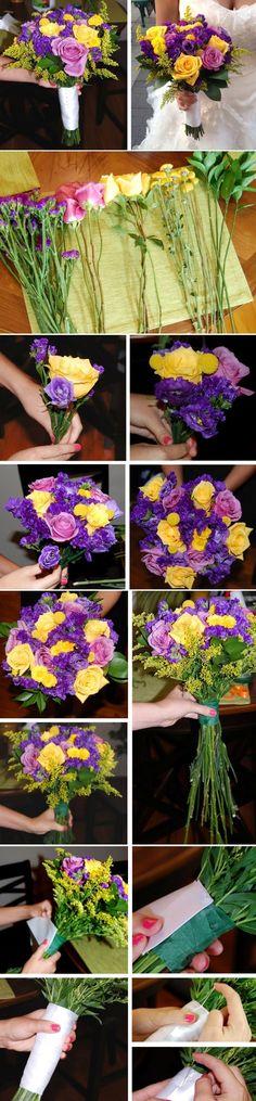 Top 10 Unique DIY Wedding Bouquets