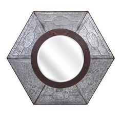 Large Imax Ella Elaine Brooder Mirror,Wall Hanging Industrial farmhouse 88921