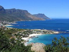 Cape Town South Africa : View towards Clifton Bay and Camps Bay in the distance ( South Africa) Beautiful Places To Travel, Beautiful Beaches, Amazing Places, Great White Shark Diving, Oh The Places You'll Go, Places To Visit, Cape Town South Africa, World Heritage Sites, 6 Years
