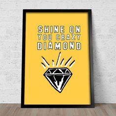 Poster Pink Floyd Shine on You Crazy Diamond