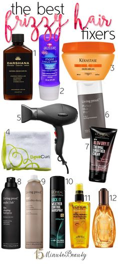Best hair tips and products to keep your hair smooth! I hate having frizzy hair!