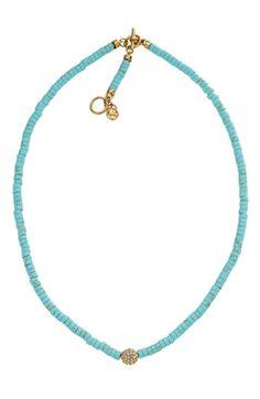 Michael Kors 'Sleek Exotics' Pavé Bead Necklace   Nordstrom