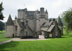 Castle Fraser, in Aberdeenshire, in the eastern part of Scotland.  (from Outlandish Observations: Karen Henry's trip to Scotland, Part 6) On the must visit list, since it's my clan!