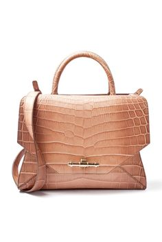 "Givenchy SS 2014  crocodile ""Obsedia"" medium bag."