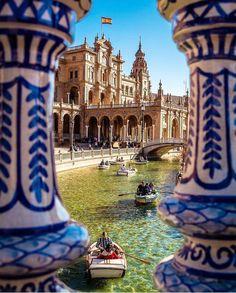 Plaza de España ~ Seville, Andalucía, Spain