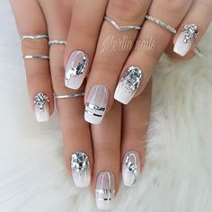 Makeup Nails Designs Makeup Nails Designs Manicure nude beige glitter, taupe nail women nail art natural Source with Unique Fashion Nails Picture Credit Cute Summer Nail Designs, Cute Summer Nails, Nail Summer, Acrylic Nail Designs, Nail Art Designs, Latest Nail Designs, Glitter Nail Designs, Silver Nail Designs, Square Nail Designs