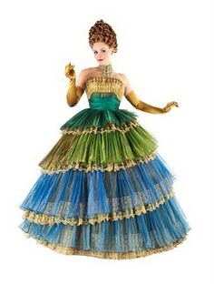 Wicked costume from the London production