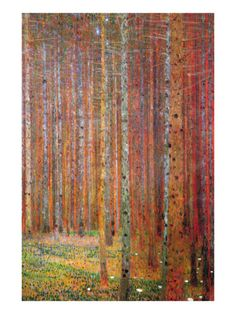 Tannenwald by Gustav Klimt ...want this on my wall!