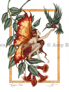 ORIGINAL ART - Watercolor Paintings Q - Z - Amy Brown Fairy Art - The Official Gallery
