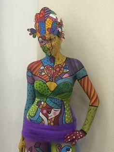 Body Painting ispirato alla #PopArt di AndyWarhol! #igigli #eventi