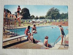PC of the Swimming Pool & Chalets, Warner's Norton Chalet Village, Isle of Wight Isle Of Wight, Childhood Memories, Digital Camera, Baby Items, Postcards, Coupons, Swimming Pools, Electronics, Ebay