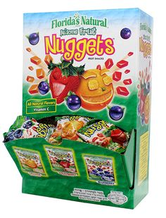 Florida's Natural Fruit Juice Kosher Nuggets Mini Bags Display (48 Ct.) ** Awesome product. Click the image at  : Fresh Groceries