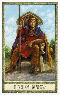 druidcraft tarot king of wands - Pesquisa Google