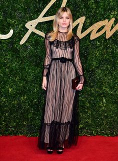 Georgia May Jagger aux British Fashion Awards 2015