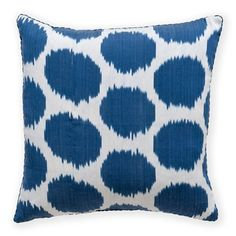 Madeline Weinrib - Ikat - Pillows.  Dotty, you loveable minx!